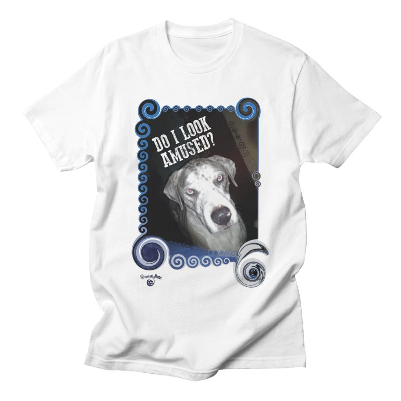 Do I look amused? Men's Regular T-Shirt by Smarty Petz's Artist Shop