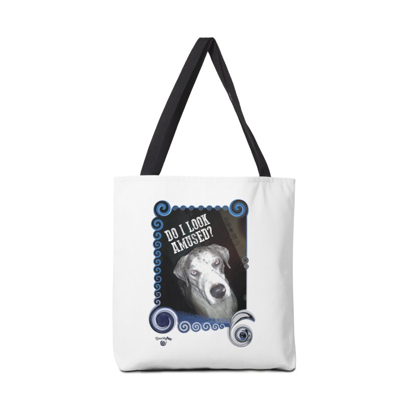 Do I look amused? Accessories Tote Bag Bag by Smarty Petz's Artist Shop