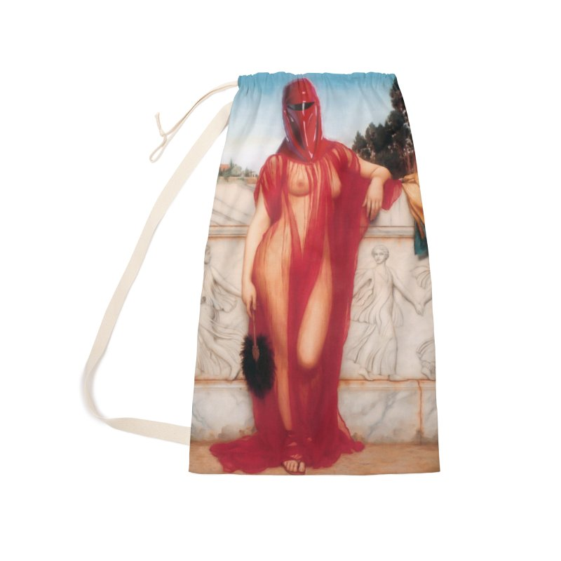 Imperial Fox Accessories Laundry Bag Bag by SmoothImperial's Artist Shop