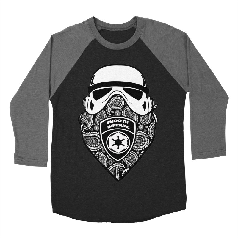 Imperial Gangsta Men's Baseball Triblend Longsleeve T-Shirt by The Death Star Gift Shop