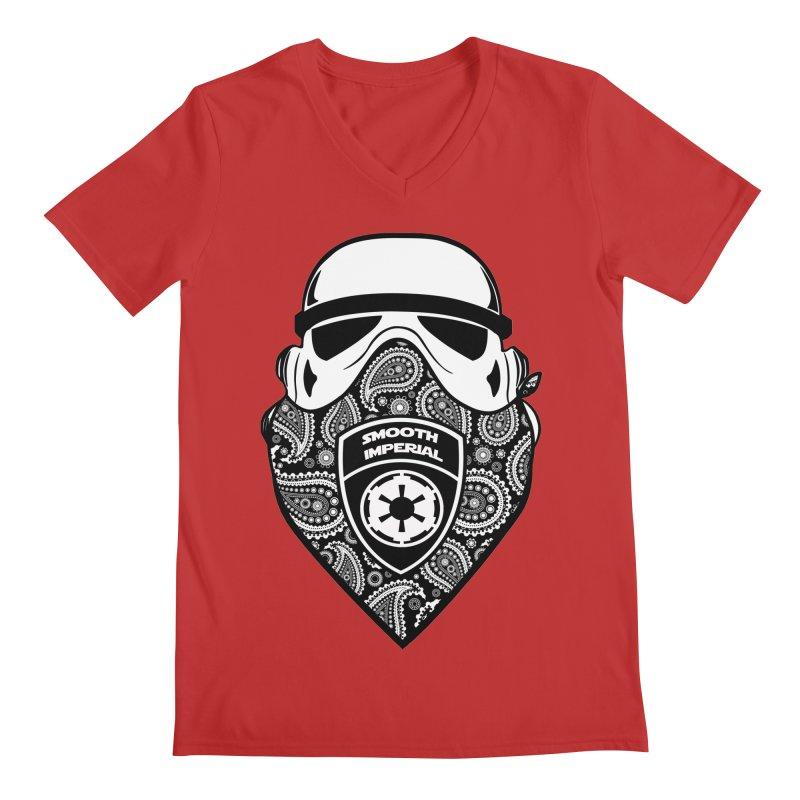 Imperial Gangsta Men's Regular V-Neck by The Death Star Gift Shop