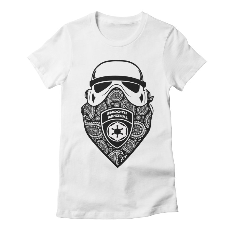 Imperial Gangsta Women's Fitted T-Shirt by The Death Star Gift Shop