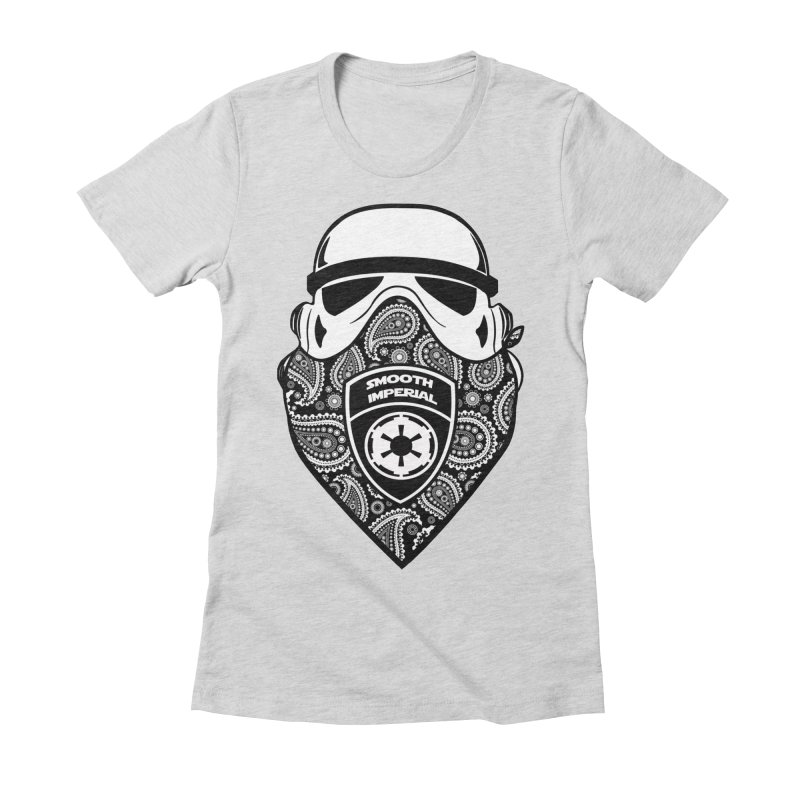 Imperial Gangsta Women's Fitted T-Shirt by SmoothImperial's Artist Shop