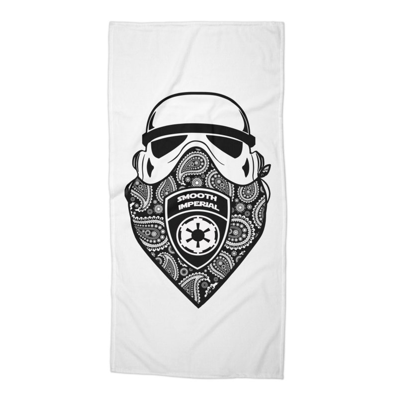 Imperial Gangsta Accessories Beach Towel by The Death Star Gift Shop