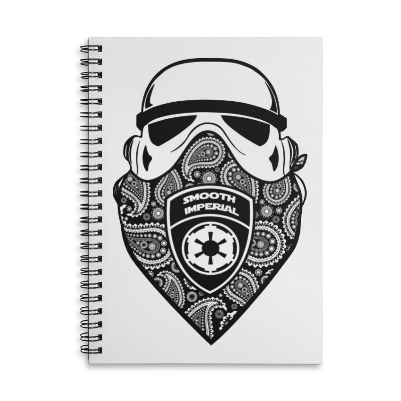 Imperial Gangsta Accessories Lined Spiral Notebook by SmoothImperial's Artist Shop