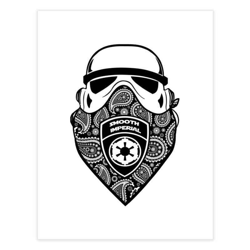 Imperial Gangsta Home Fine Art Print by The Death Star Gift Shop
