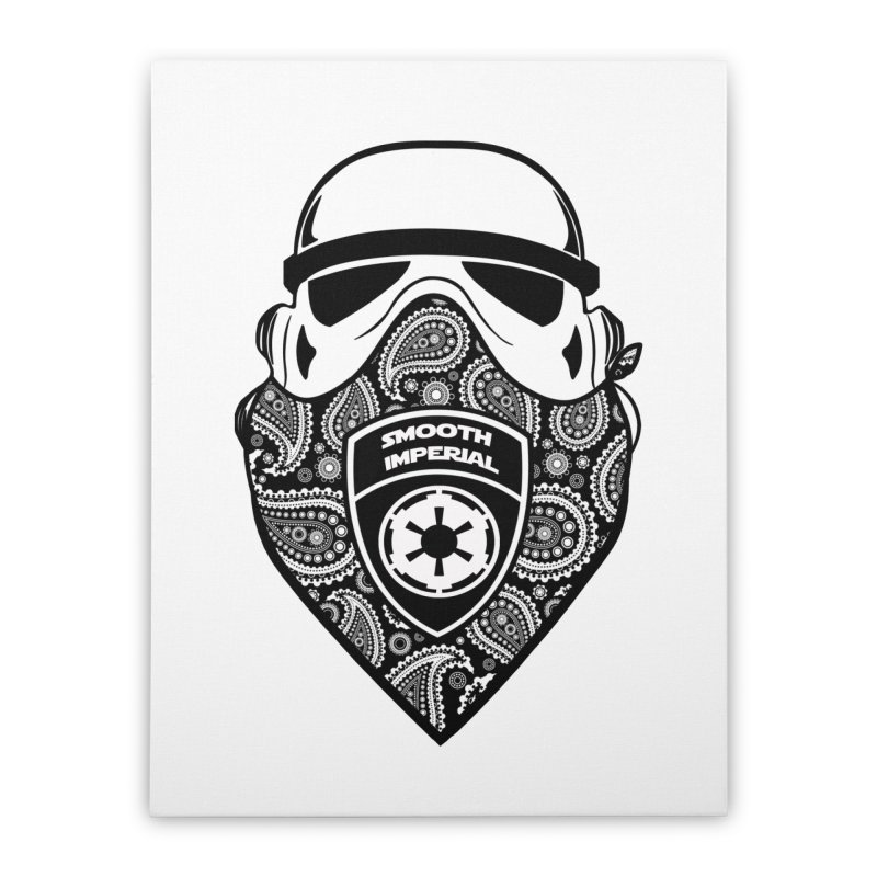 Imperial Gangsta Home Stretched Canvas by The Death Star Gift Shop