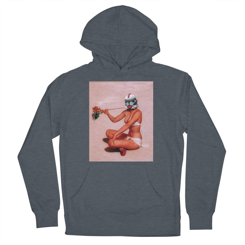 Smoking Hot Clone Men's French Terry Pullover Hoody by The Death Star Gift Shop