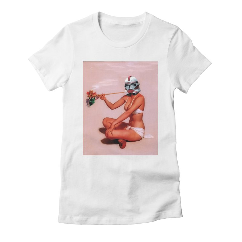 Smoking Hot Clone Women's Fitted T-Shirt by SmoothImperial's Artist Shop