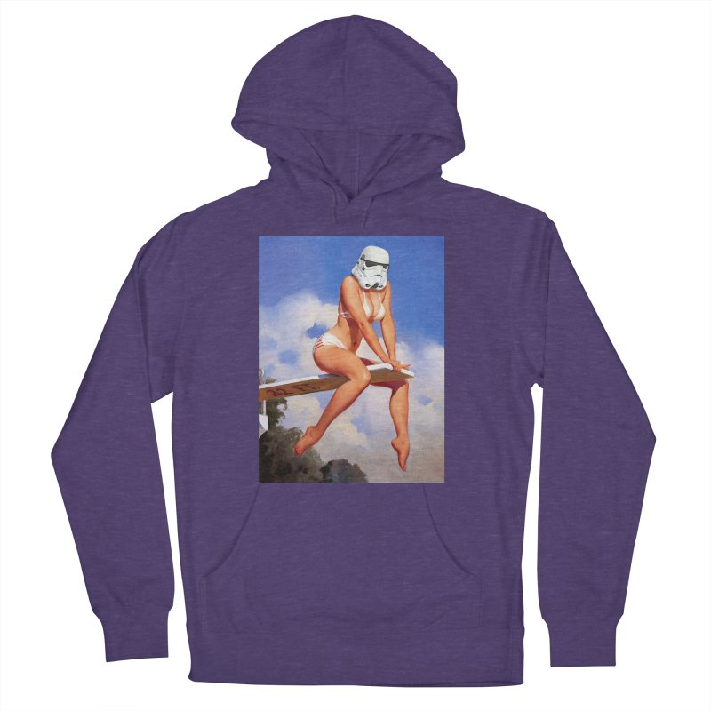 Dive into The Empire Men's French Terry Pullover Hoody by SmoothImperial's Artist Shop