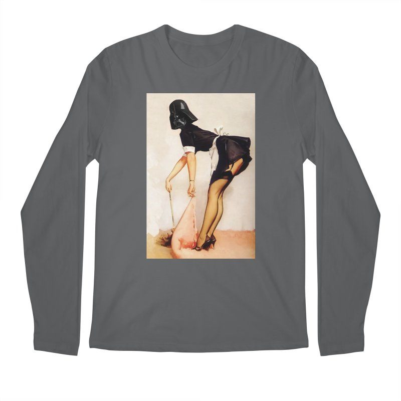 Maid Vader Men's Longsleeve T-Shirt by SmoothImperial's Artist Shop