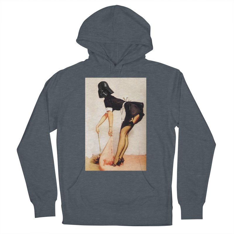 Maid Vader Women's French Terry Pullover Hoody by SmoothImperial's Artist Shop