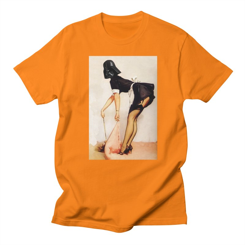 Maid Vader Men's Regular T-Shirt by SmoothImperial's Artist Shop