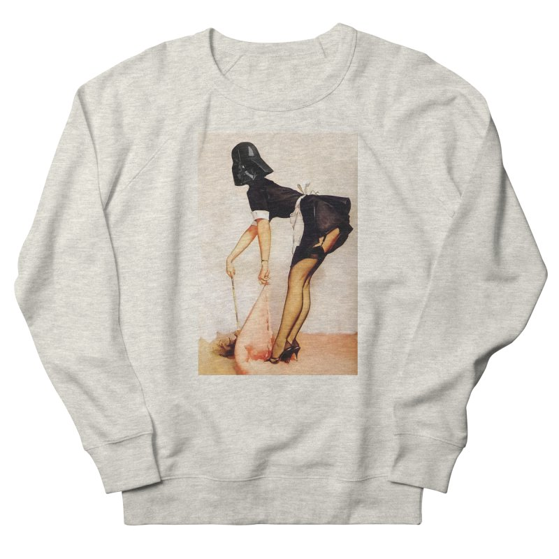 Maid Vader Women's French Terry Sweatshirt by SmoothImperial's Artist Shop