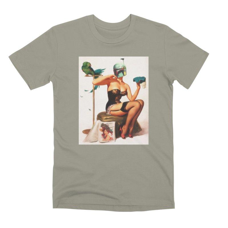 Bobette Fett Men's Premium T-Shirt by The Death Star Gift Shop