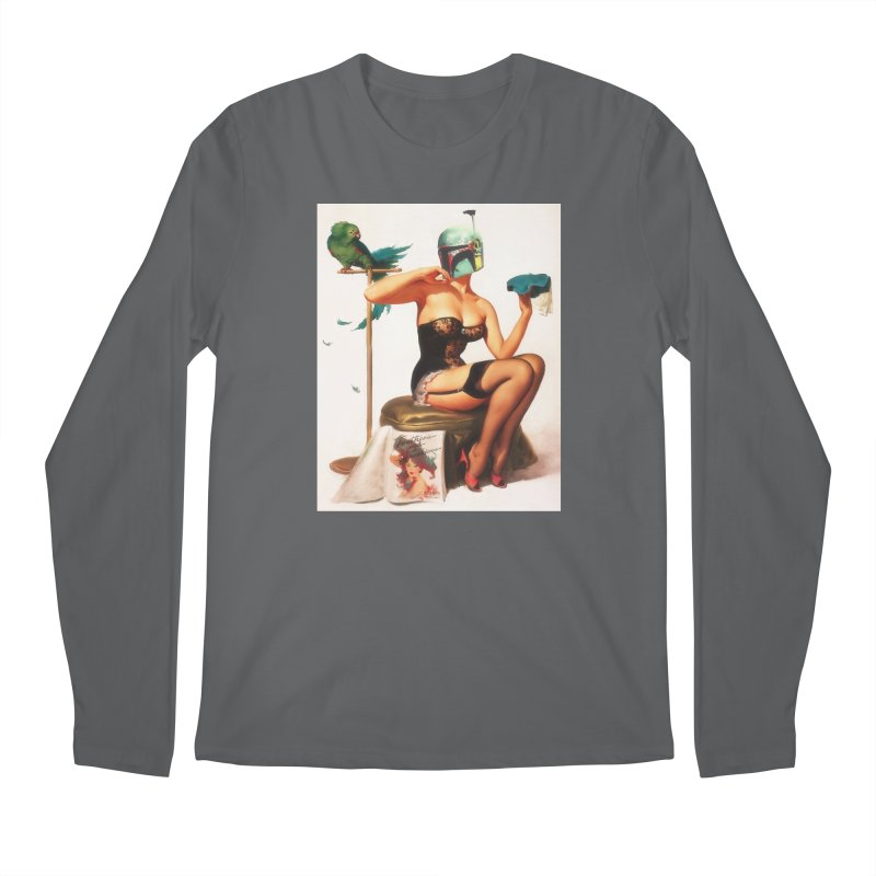 Bobette Fett Men's Longsleeve T-Shirt by SmoothImperial's Artist Shop