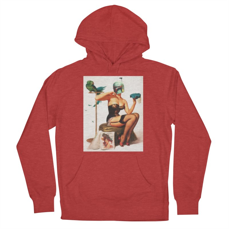 Bobette Fett Women's French Terry Pullover Hoody by SmoothImperial's Artist Shop