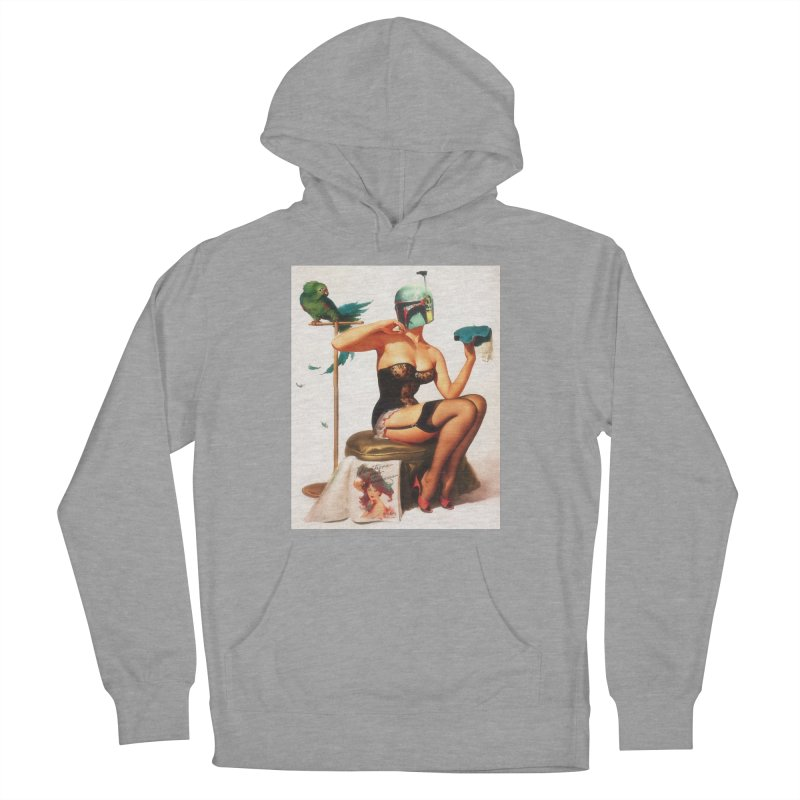 Bobette Fett Men's French Terry Pullover Hoody by SmoothImperial's Artist Shop