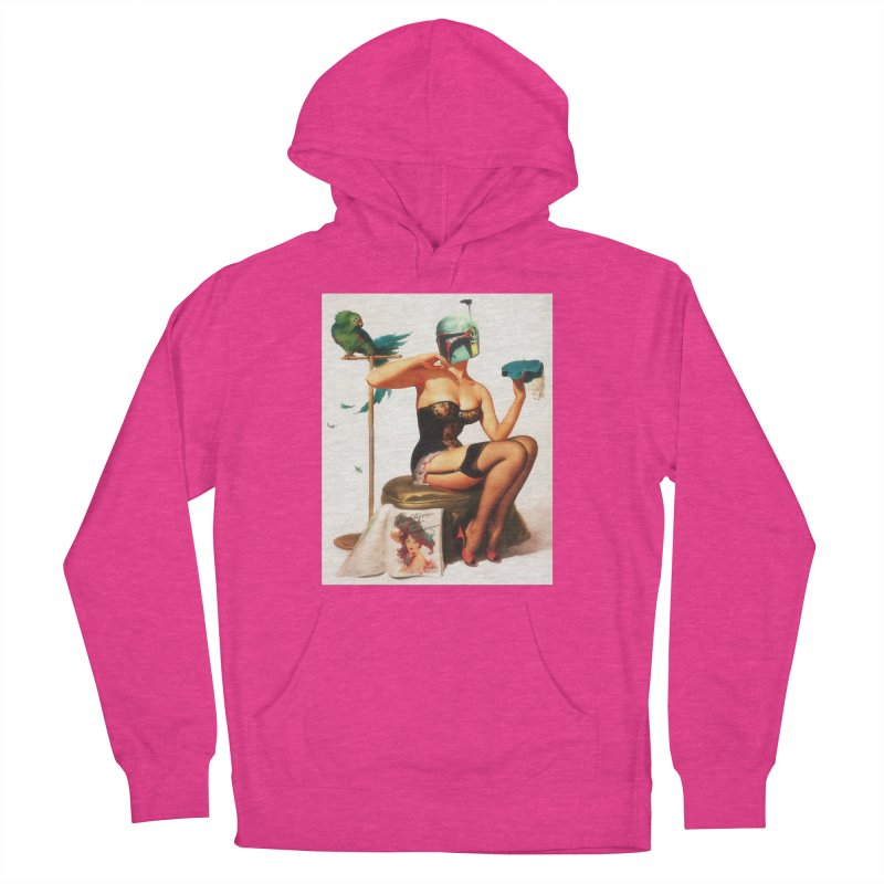 Bobette Fett Men's Pullover Hoody by The Death Star Gift Shop