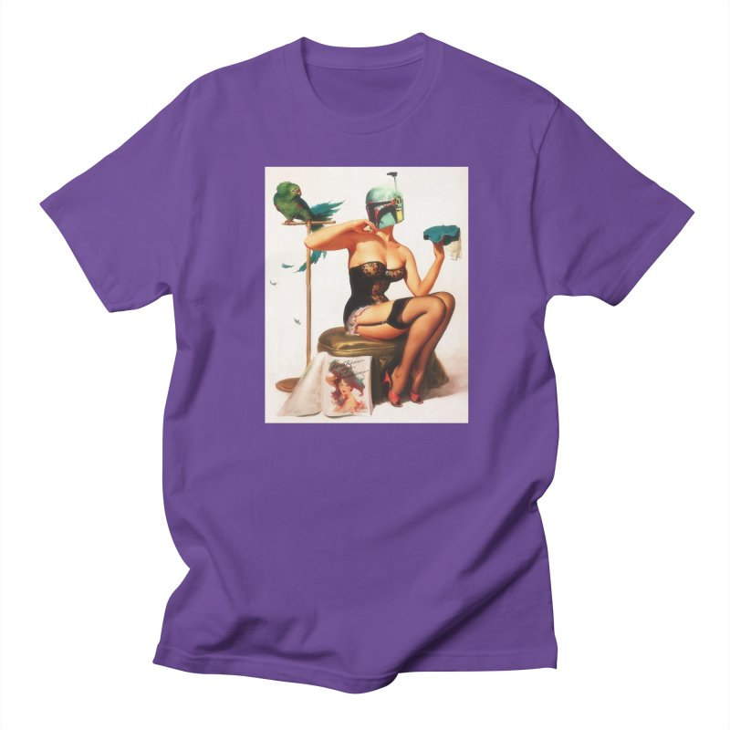 Bobette Fett Men's Regular T-Shirt by SmoothImperial's Artist Shop