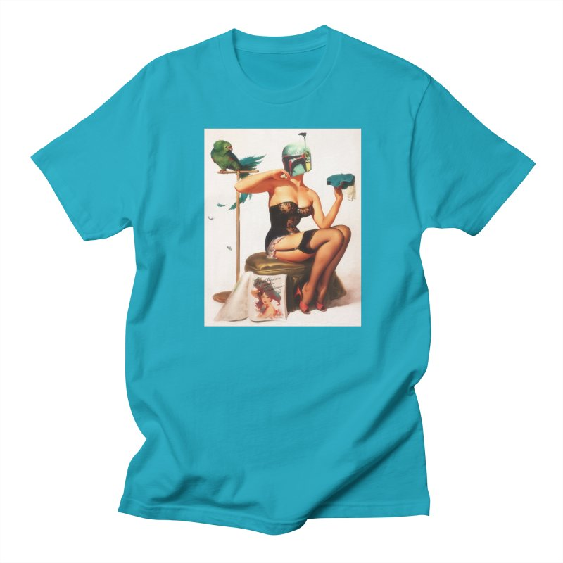 Bobette Fett Men's T-Shirt by The Death Star Gift Shop