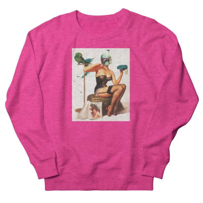 Bobette Fett Women's French Terry Sweatshirt by SmoothImperial's Artist Shop