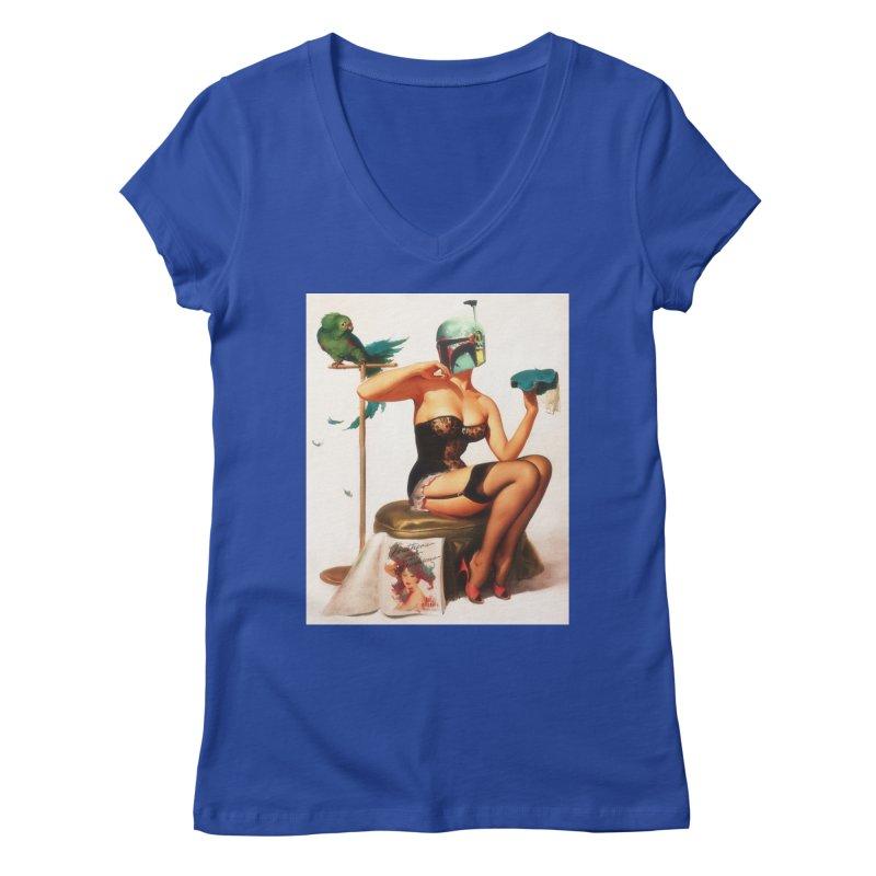Bobette Fett Women's Regular V-Neck by SmoothImperial's Artist Shop