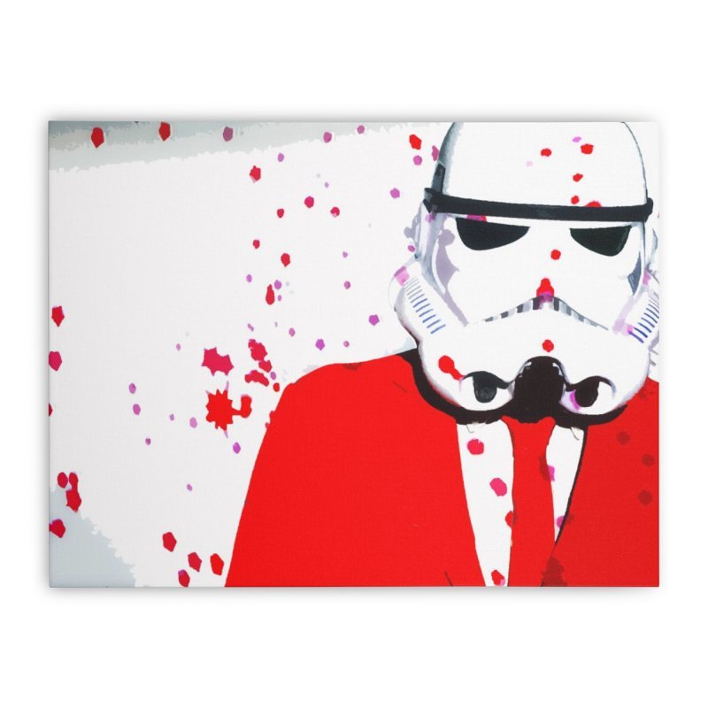 Smooth Pop Home Stretched Canvas by SmoothImperial's Artist Shop