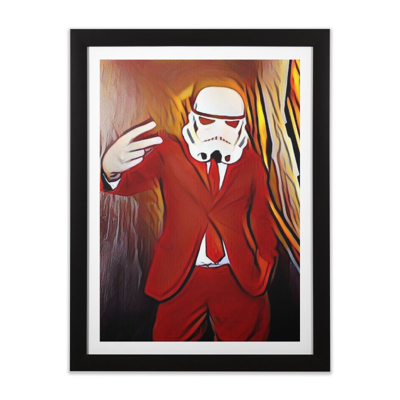 Smooth Fire Home Framed Fine Art Print by SmoothImperial's Artist Shop