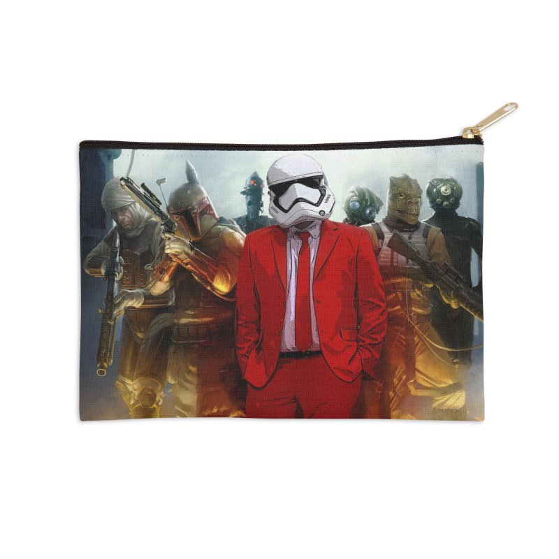Smooth Bounty Hunters Accessories Zip Pouch by SmoothImperial's Artist Shop