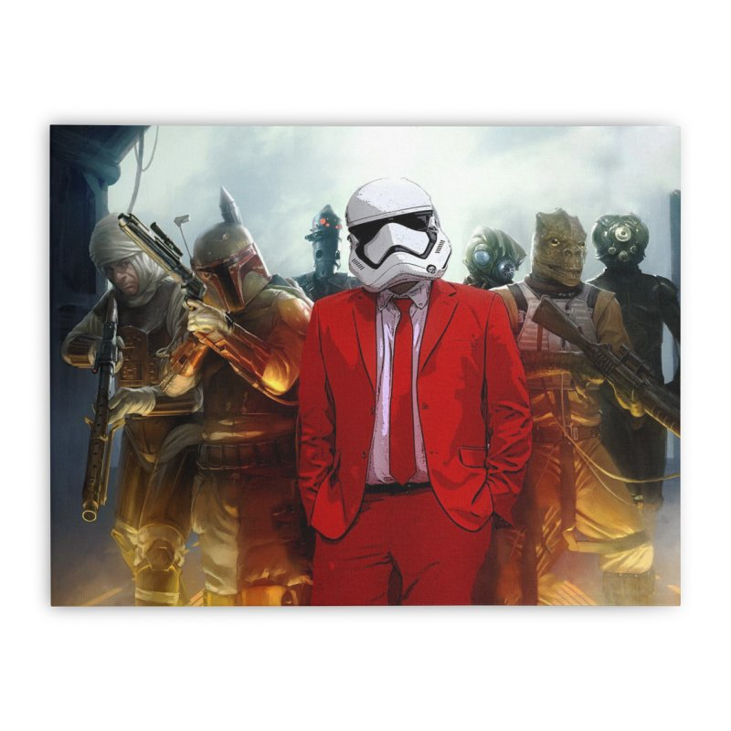 Smooth Bounty Hunters Home Stretched Canvas by SmoothImperial's Artist Shop