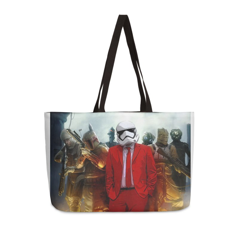 Smooth Bounty Hunters Accessories Bag by SmoothImperial's Artist Shop