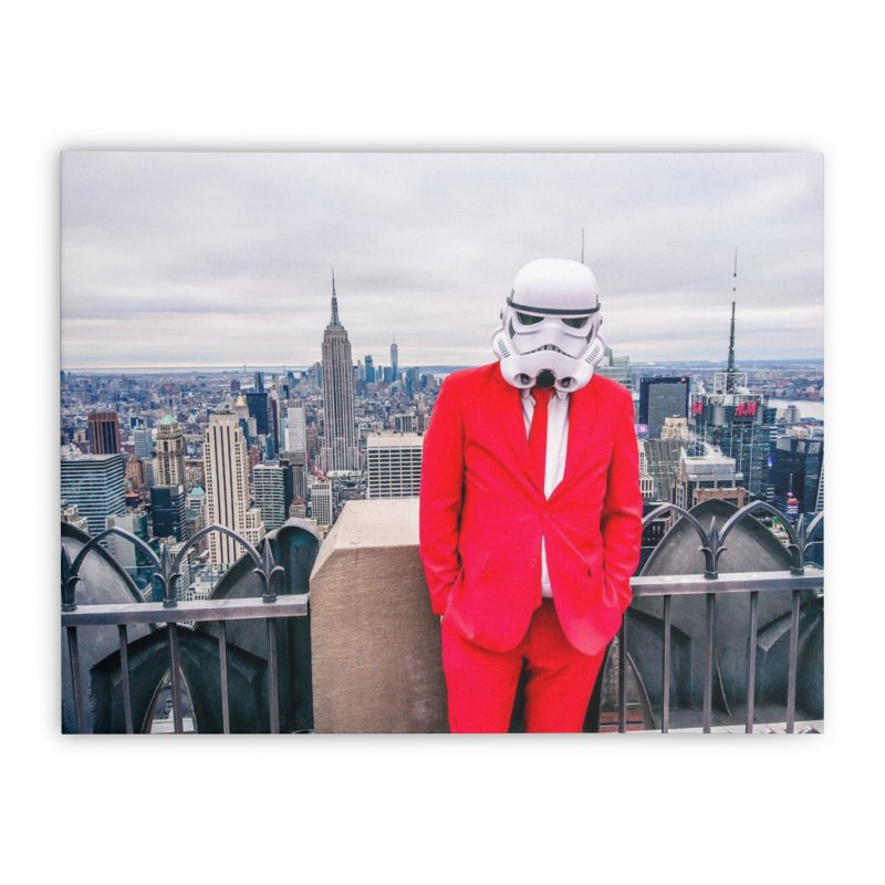 Coruscant!? Home Stretched Canvas by SmoothImperial's Artist Shop