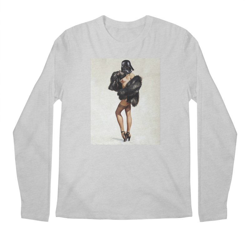 Darth Gorgeous! Men's Longsleeve T-Shirt by SmoothImperial's Artist Shop