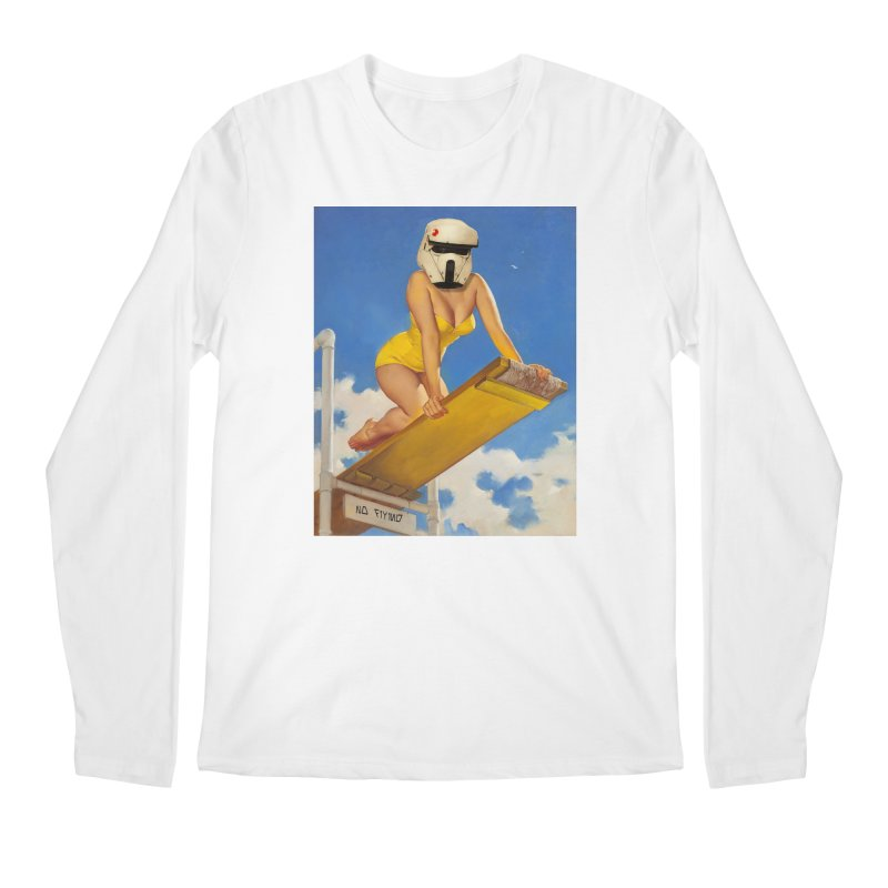 NO DIVING! Men's Longsleeve T-Shirt by SmoothImperial's Artist Shop