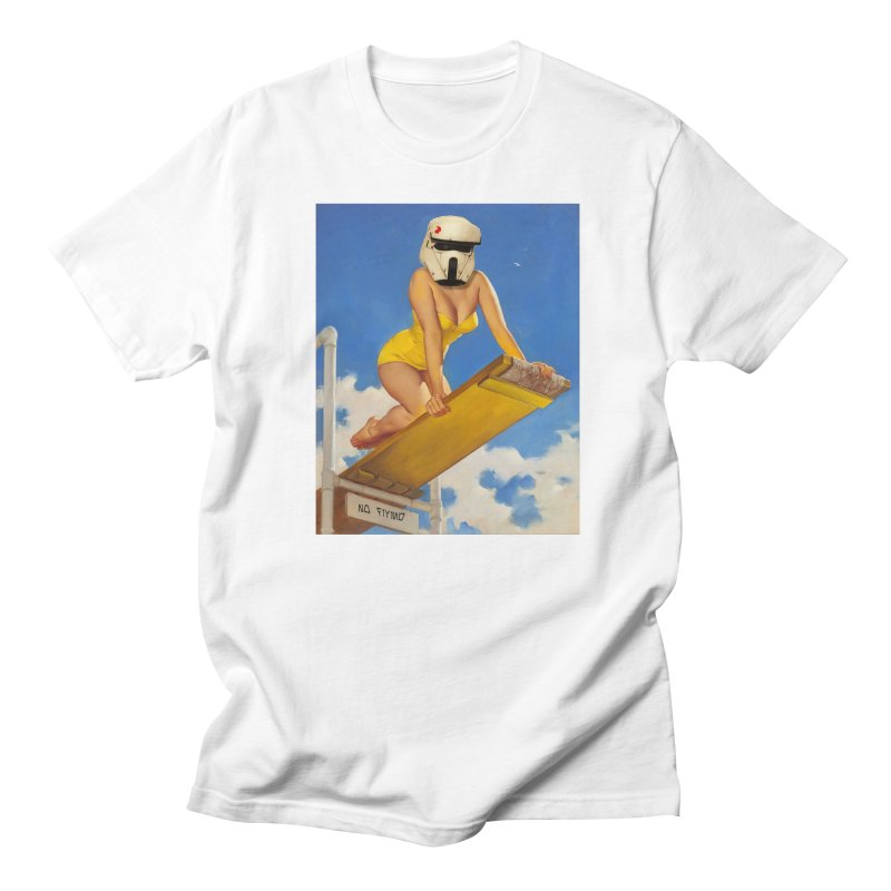 NO DIVING! Men's T-Shirt by SmoothImperial's Artist Shop