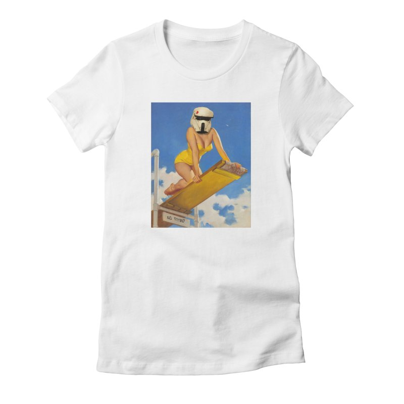 NO DIVING! Women's T-Shirt by SmoothImperial's Artist Shop