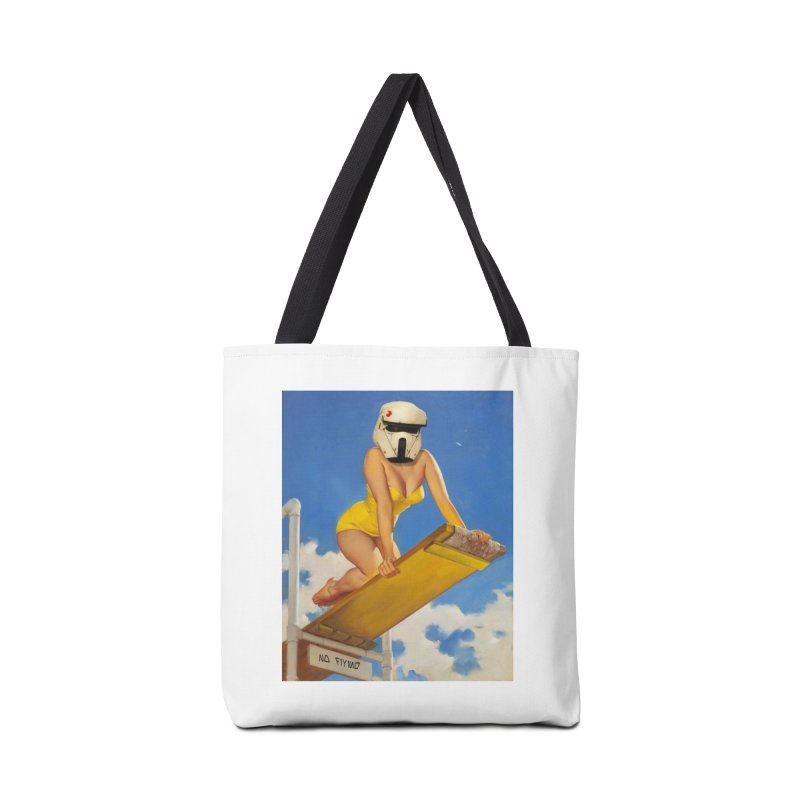 NO DIVING! Accessories Bag by SmoothImperial's Artist Shop