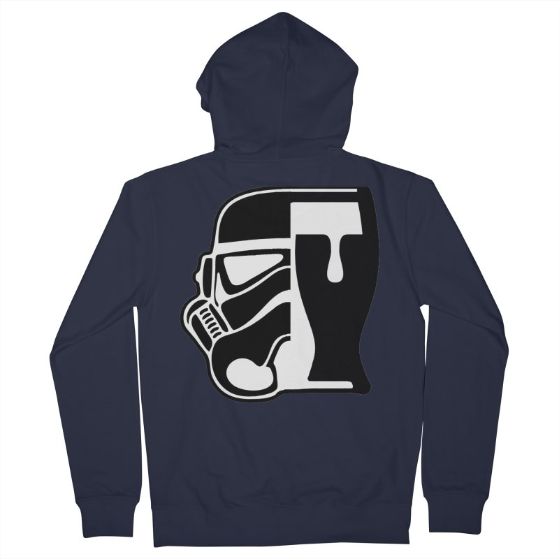 Buckets and Beers Episode III Women's French Terry Zip-Up Hoody by The Death Star Gift Shop