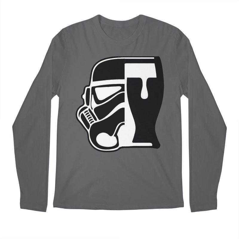 Buckets and Beers Episode III Men's Regular Longsleeve T-Shirt by The Death Star Gift Shop