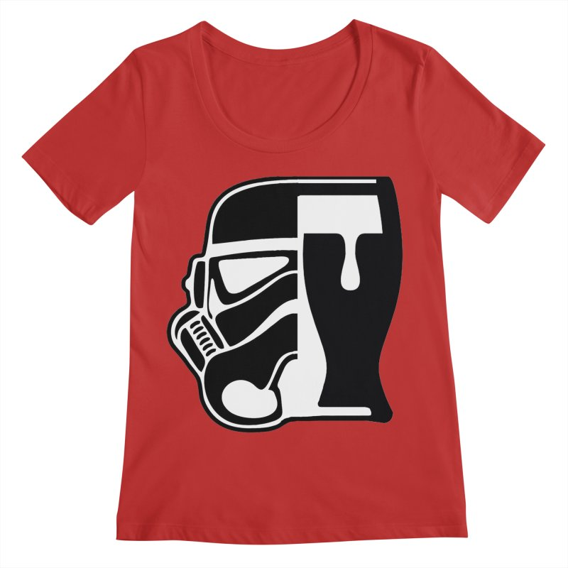 Buckets and Beers Episode III Women's Regular Scoop Neck by The Death Star Gift Shop