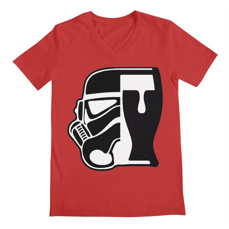 Buckets and Beers Episode III Men's Regular V-Neck by The Death Star Gift Shop