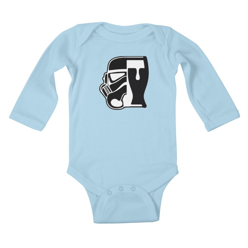 Buckets and Beers Episode III Kids Baby Longsleeve Bodysuit by SmoothImperial's Artist Shop