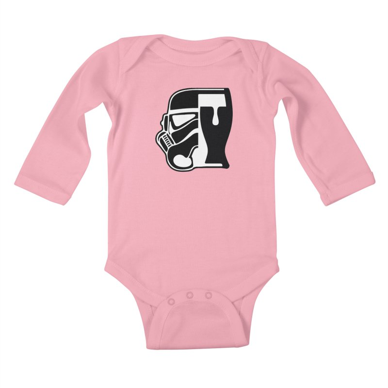 Buckets and Beers Episode III Kids Baby Longsleeve Bodysuit by The Death Star Gift Shop