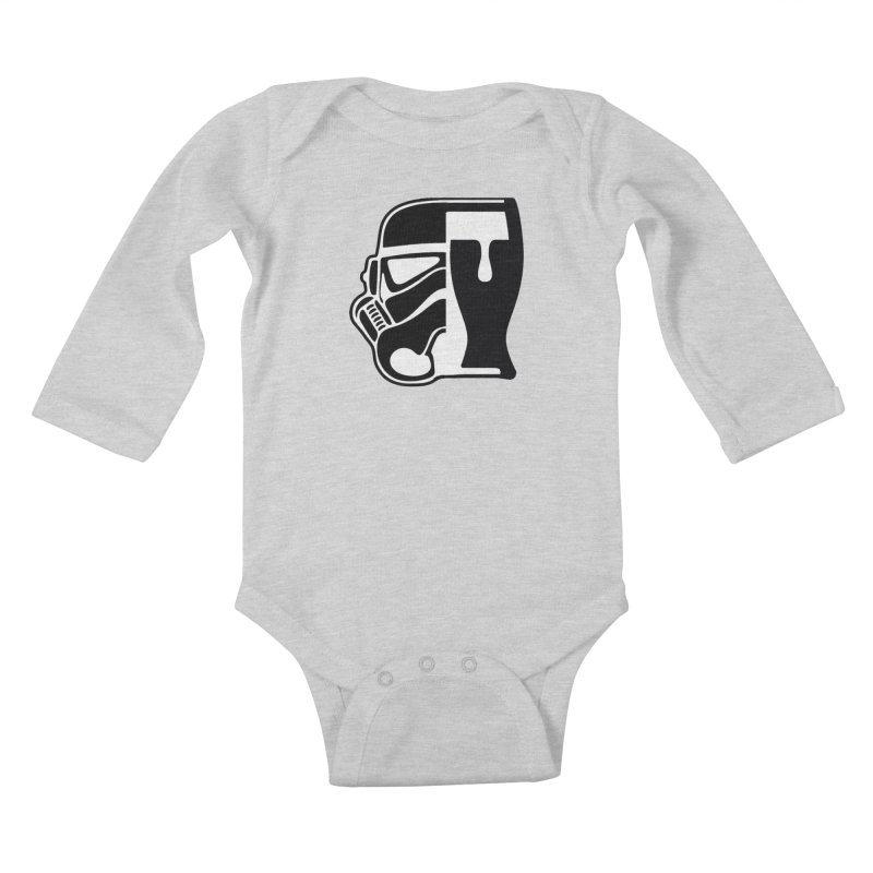 Buckets and Beers Episode III Kids Baby Longsleeve Bodysuit by SmoothImperial's Artist Shop