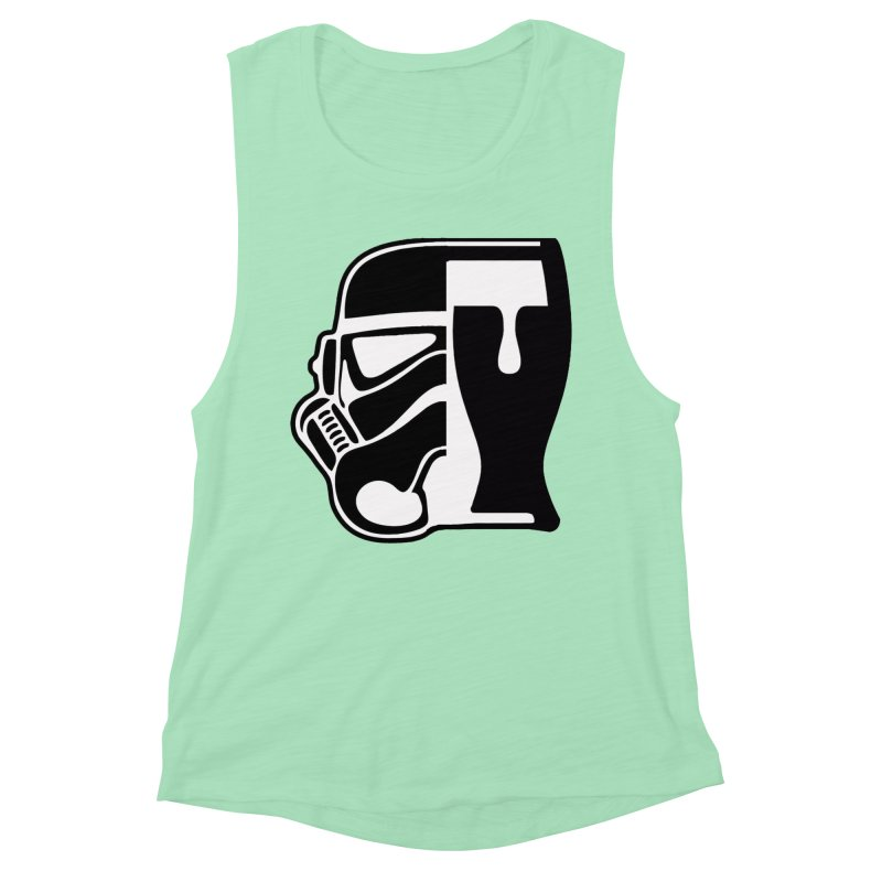 Buckets and Beers Episode III Women's Muscle Tank by The Death Star Gift Shop