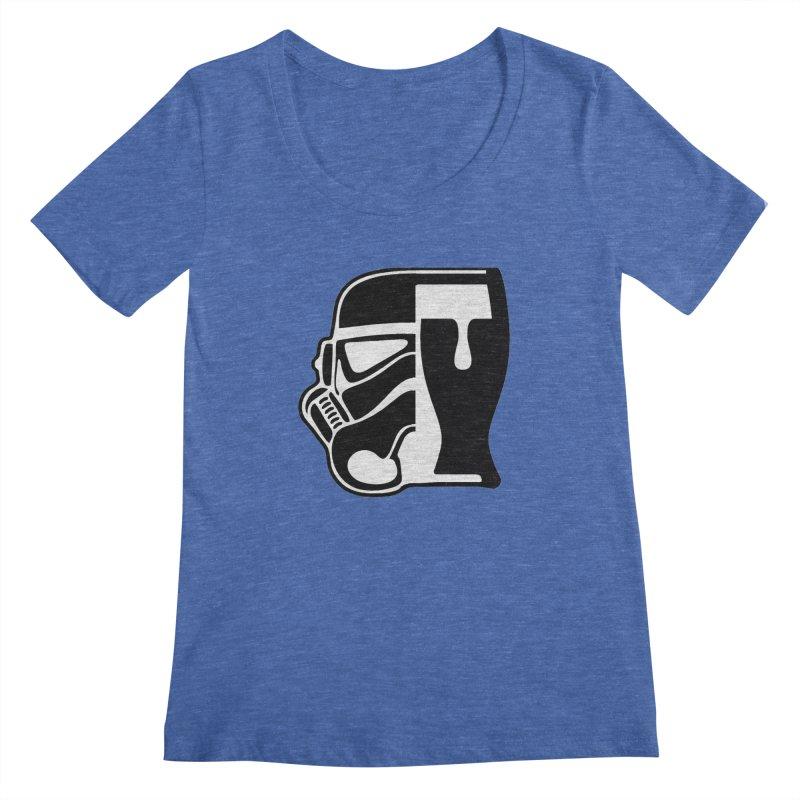 Buckets and Beers Episode III Women's Regular Scoop Neck by SmoothImperial's Artist Shop