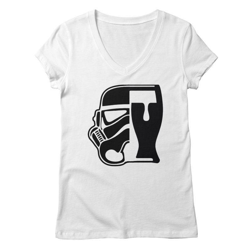 Buckets and Beers Episode III Women's Regular V-Neck by The Death Star Gift Shop
