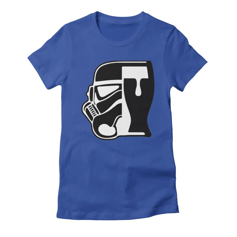 Buckets and Beers Episode III Women's Fitted T-Shirt by The Death Star Gift Shop