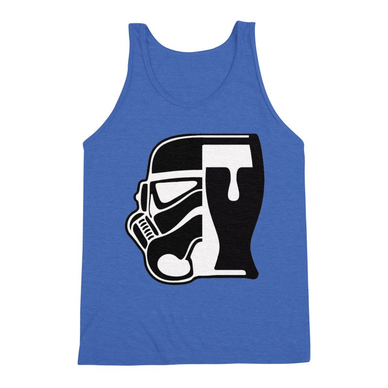 Buckets and Beers Episode III Men's Triblend Tank by SmoothImperial's Artist Shop